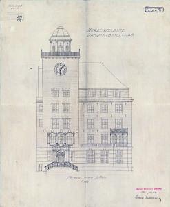 Havnekontoret, Hotel Clarion Collection, har navn etter Bergen og Omland Havnevesen, som hadde kontorer i bygningen fra 1975 til 2005. Bygningen i nordeuropeisk nyrenessanse ble tegnet av arkitekt C. C. A. Michalsen for Nordenfjeldskes Dampskipsselskab. Arkivet etter Bygningssjefen, Bergen Byarkiv.