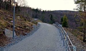 Når Løvsten står ferdig blir den en sammenhengene tursti fra Kråkenes til Melkeplassen.