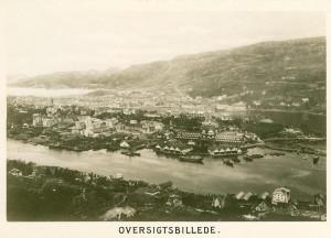 Bergensutstillingen i 1898 befestet Bergens sterke posisjon i norsk næringsliv rundt 1900. Utstillingen ble arrangert i Nygårdsparken. Fotograf: K. Nyblin. Bergen offentlige biblioteks billedsamling.