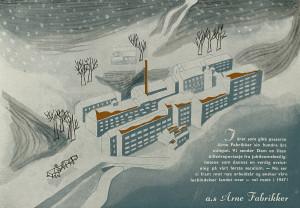 Arne fabrikker feiret 100-årsjubilee i 1946. Produksjonen økte frem mot 1960-tallet. Så kom nedgangen. Produksjonen ble flyttet til Sverige i 1989.