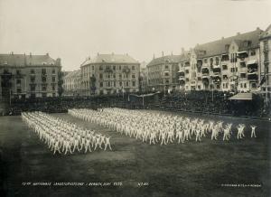 Det 10. Landsturnstevne i Bergen, juni 1922.