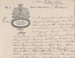 Bilbrevrekvisisjon fra Bredal og Brunchorst, som drev Georgernes skipsverft, datert 11. februar 1834.