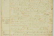 Fattighusets kopibok fra 1823