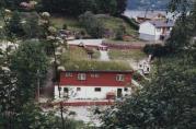 Foto av den gamle barnehagen. Årstall og fotograf ukjent.