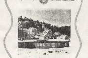 Arne Fabrikker sin bedriftsavis med bilde av barnehagen. Nr. 1 påsken 1955.
