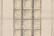 Skisse av korridorlykter. (Fra arkivet etter Byggprosjektavdelingen.)