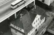 1964, Husmorskolen under broen. Fotograf ukjent.