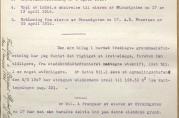 """Innlegg for innstilling i ekspropriasjonssak for Strandgaten 15 eid av Johan G. Becker som drev """"Bergens Modeforretning"""". Eiendommen inneholdt butikk, lager, kontor og systue. Skjønnet ble avholdt 1. august 1916. Arkivet etter Skjønnskommisjonen for bygningssaker (A-0175, Ha:6)."""