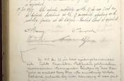 Referat fra møte i reguleringskommisjonen 22. juni 1917 hvor Lilienberg, Greve og Landmark presenterte bebyggelsesplanen. Arkivet etter Reguleringsvesenet (A-0967, Ab:11)