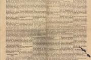Førstesideartikkel i avisen Arbeidet 12.februar 1920 om de dårlige boforholdene i brakkene på Grønneviksøren. Arkivet etter Rådmannen for 4.avdeling (A-0511, E:6).