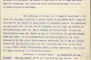 Første side av en uttalelse fra stadsfysikus etter oppslaget i avisen Arbeidet. Arkivet etter Rådmannen for 4.avdeling (A-0511, E:6).