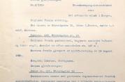 Forsøksekspropriasjonstakst for Strandgaten 15. Fra utskrift av Bergen skjønnskommisjons 25. juli 1916. Arkivet etter Skjønnskommisjonen for bygningssaker (A-0175, Ha:6).