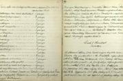 Tema som har vært tatt opp på møtene 1890-1901. Arkivet etter Munin.